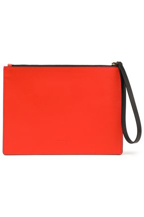 MARNI Color-block leather pouch