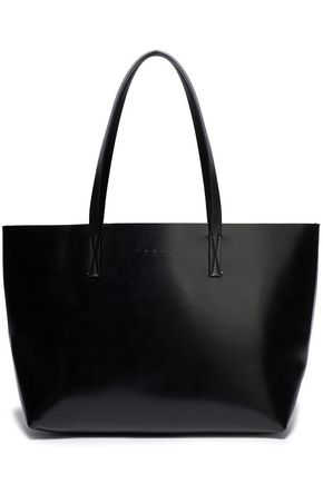 MARNI Faux leather tote