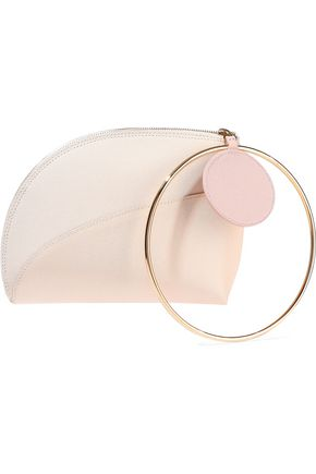 ROKSANDA Textured-leather clutch