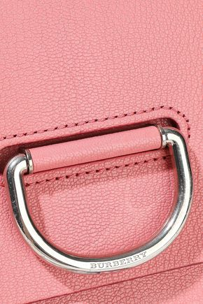 BURBERRY The D-Ring small textured-leather shoulder bag