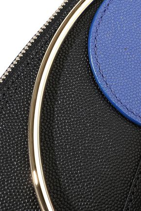 ROKSANDA Textured-leather clutch