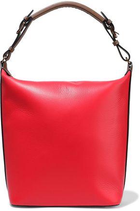 MARNI Textured-leather tote