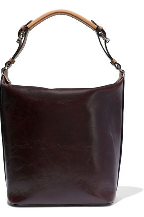 MARNI Medium crinkled-leather shoulder bag