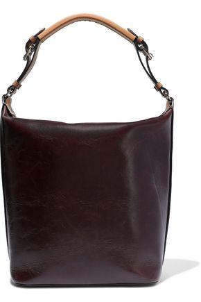MARNI Medium crinkled-leather shoulder bag