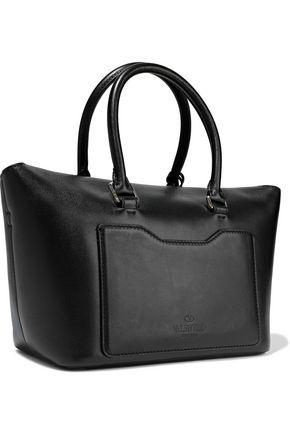 VALENTINO GARAVANI Demilune leather tote