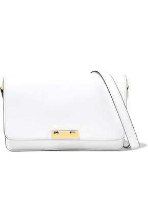 MARNI Small glossed-leather shoulder bag