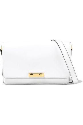 MARNI Small glossed-leather shoulder bag