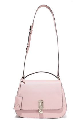 VALENTINO GARAVANI Joylock textured-leather shoulder bag