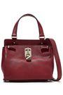 VALENTINO GARAVANI Joylock small textured-leather shoulder bag