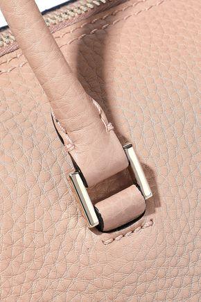 VALENTINO GARAVANI Rockstud pebbled-leather tote