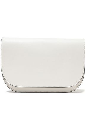 MARNI Textured-leather shoulder bag