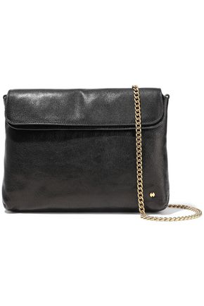 HALSTON HERITAGE Tina pebbled-leather clutch