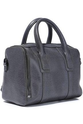 HALSTON HERITAGE Pebbled-leather shoulder bag