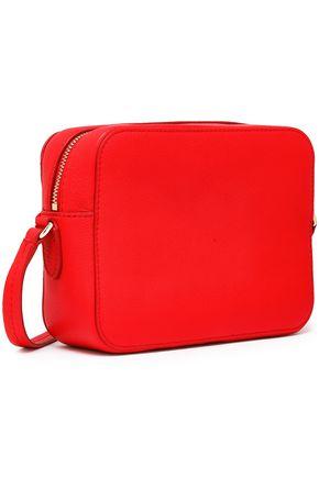 KATE SPADE New York Hayes Street bow-detailed pebbled-leather shoulder bag