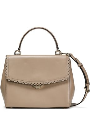 MICHAEL MICHAEL KORS Scalloped leather tote
