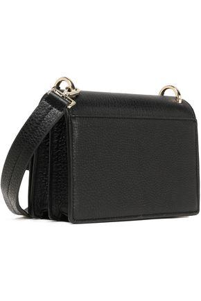 KATE SPADE New York Tasseled textured-leather shoulder bag