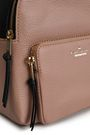 KATE SPADE New York Keleigh two-tone textured-leather backpack