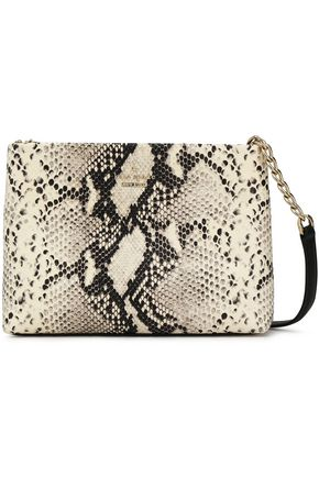 KATE SPADE New York Emerson snake-effect leather shoulder bag