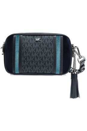 MICHAEL MICHAEL KORS Small Camera printed pebled-leather shoulder bag