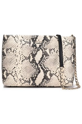 KATE SPADE New York Snake-effect leather shoulder bag