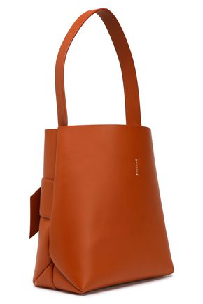 ACNE STUDIOS Musubi large knotted leather bucket bag