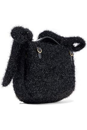 SIMONE ROCHA Bow-embellished tinsel shoulder bag