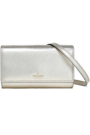 KATE SPADE New York Textured-leather shoulder bag