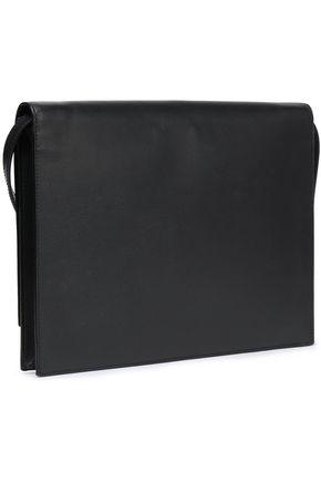 SMYTHSON Textured-leather shoulder bag