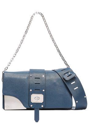 VERSACE Cutout leather shoulder bag