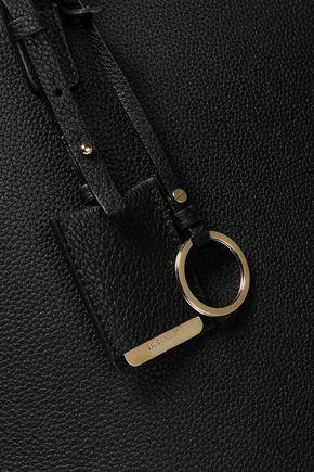 JIL SANDER Textured-leather tote