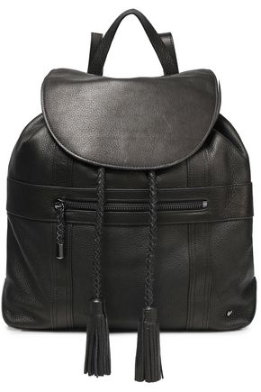 HALSTON HERITAGE Pebbled-leather backpack