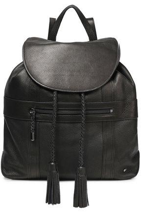 HALSTON HERITAGE Pebbled-leather backpack