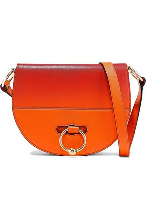 J.W.ANDERSON Latch small dégradé smooth and textured-leather shoulder bag