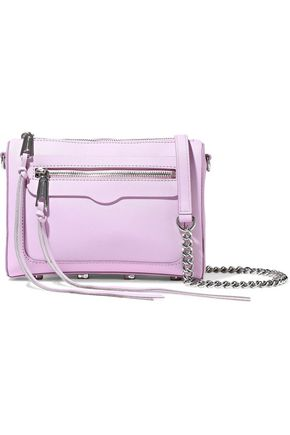 REBECCA MINKOFF Avery textured-leather shoulder bag