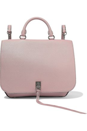 REBECCA MINKOFF Darren medium convertible pebbled-leather backpack