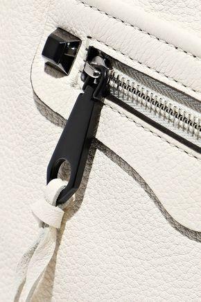 REBECCA MINKOFF Regan micro textured-leather shoulder bag