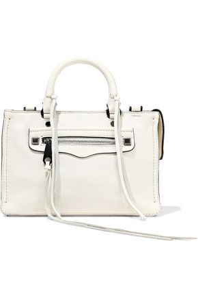 REBECCA MINKOFF Regan micro textured-leather shoulder bag