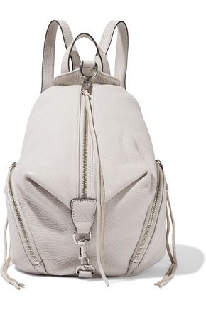 REBECCA MINKOFF Julian medium pebbled-leather backpack