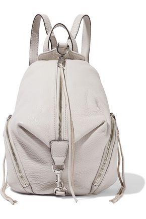 REBECCA MINKOFF Julian medium pebbled-leather backpack