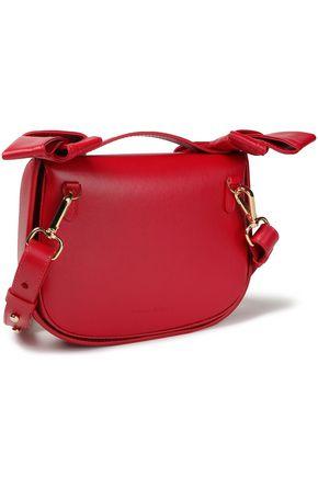 SIMONE ROCHA Bow-embellished leather shoulder bag