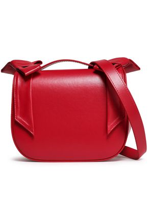 SIMONE ROCHA Bow-embellished leather shoulder bag