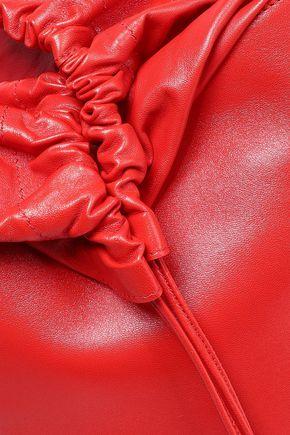 JIL SANDER Leather bucket bag