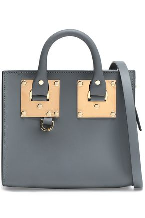 SOPHIE HULME Albion Box leather shoulder bag