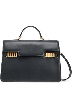 DONNA KARAN Embellished leather shoulder bag