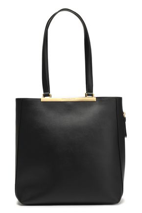 DONNA KARAN Mally leather tote