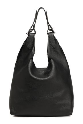 DKNY Pebbled-leather shoulder bag