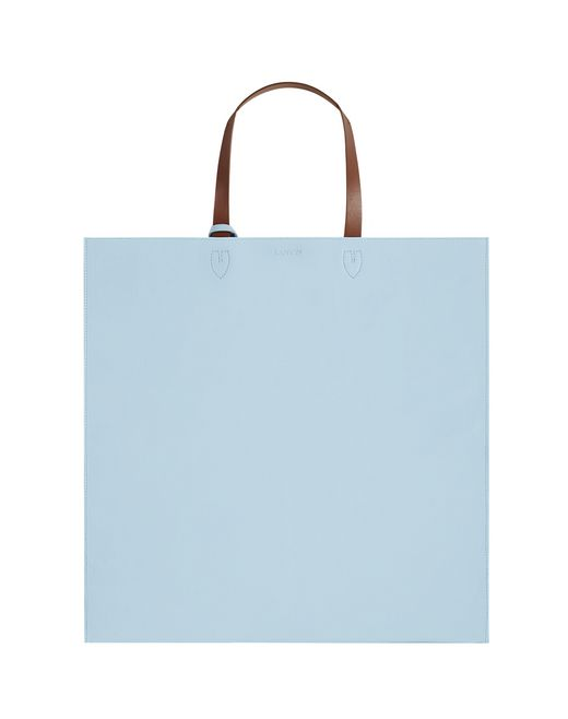 LEATHER TOTE BAG - Lanvin