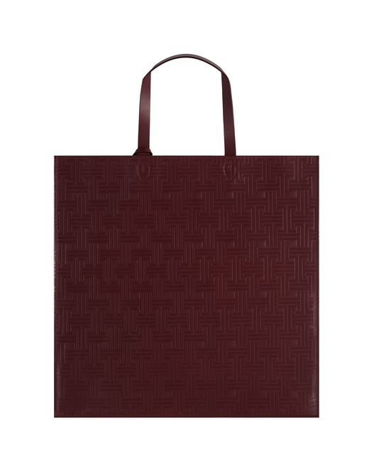 SOFT LEATHER TOTE BAG - Lanvin