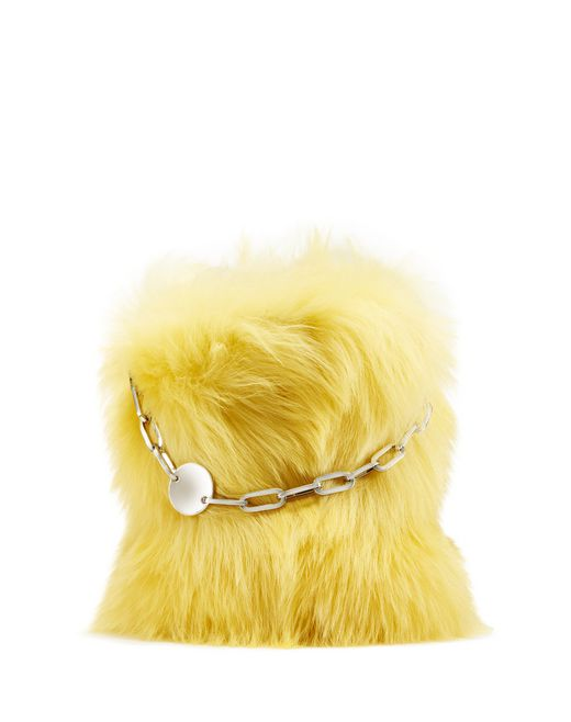 SHEARLING LAMP BAG - Lanvin