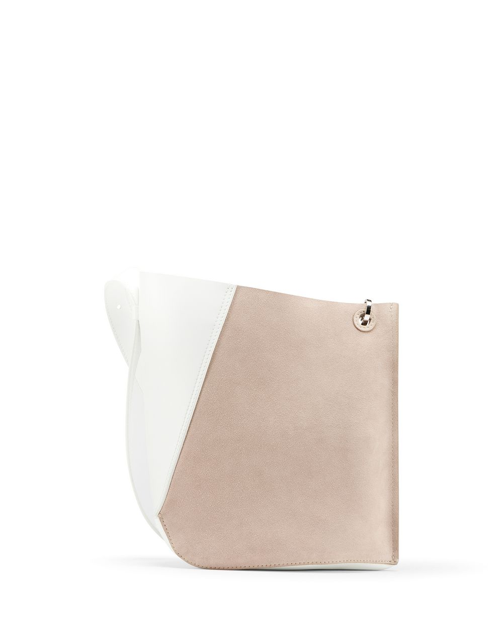 SMALL TWO-TONED HOOK BAG - Lanvin